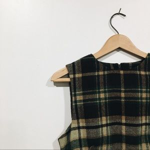Vintage Limited America Holiday Wool Dress